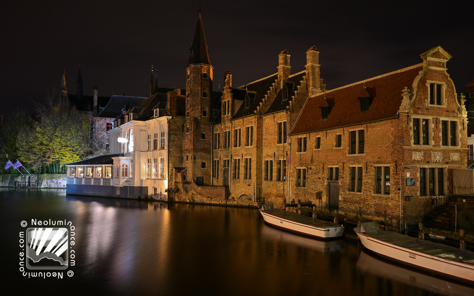 Bruges Canal Houses