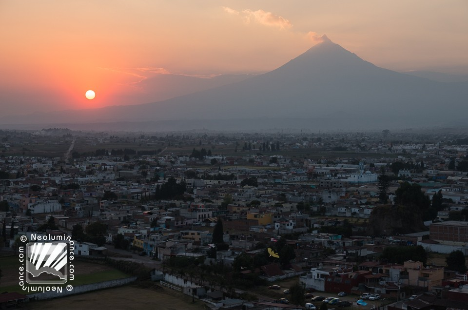 Cholula Sunset