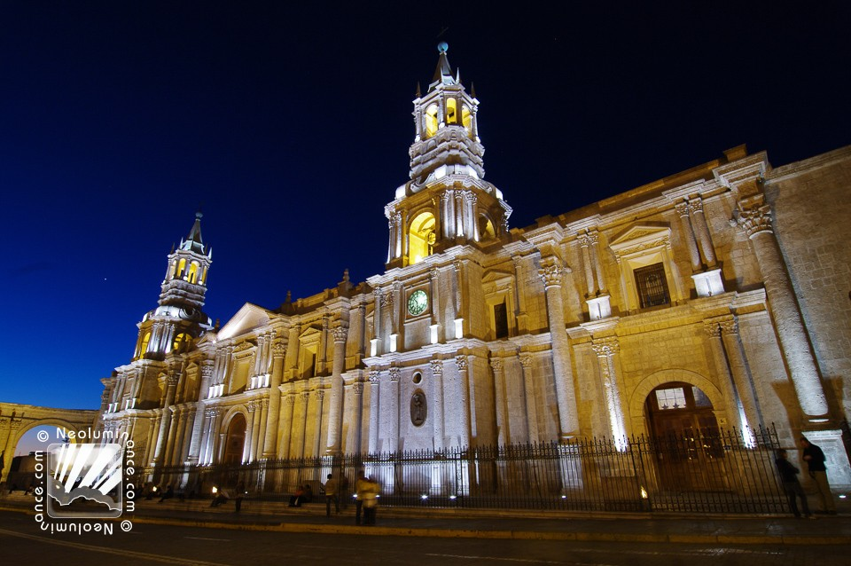 Arequipa Cathedral Night