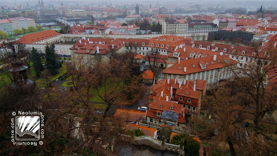Old Prague Roofs