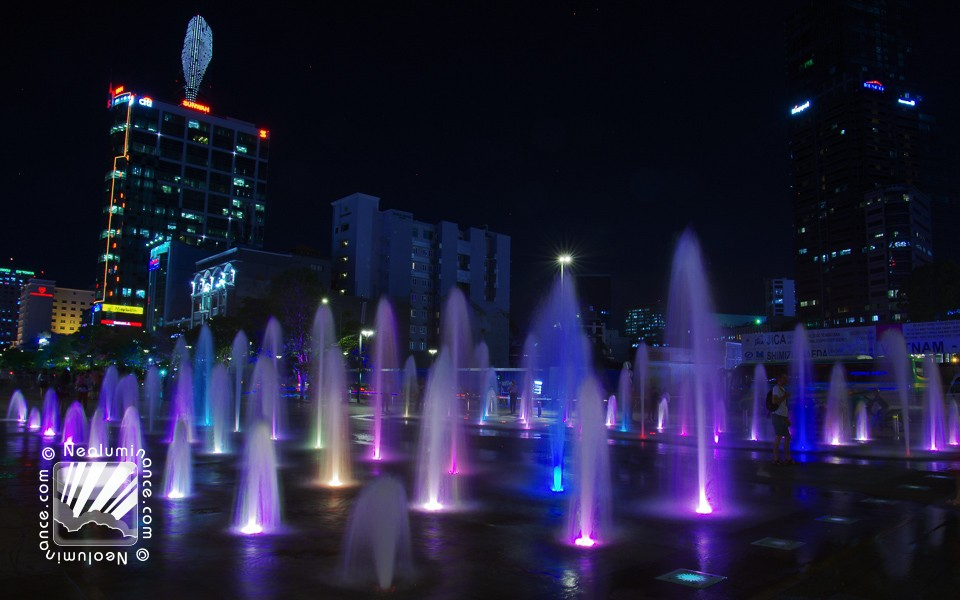Luminous Fountains