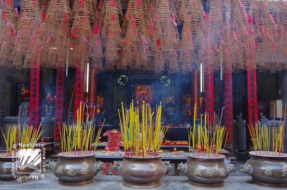 Incense Wall